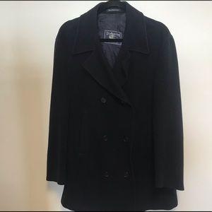 Burberry cashmere coat size L